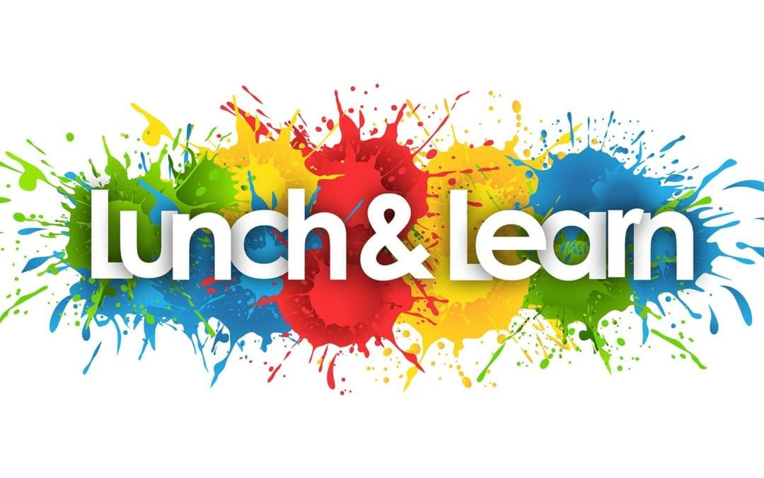 Lunch & Learn Events, October 2020