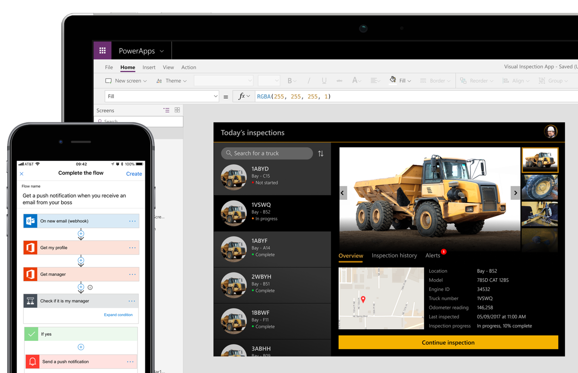 Photo of Power Apps Dashboard